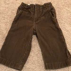 Brown corduroy pants, 12-18M